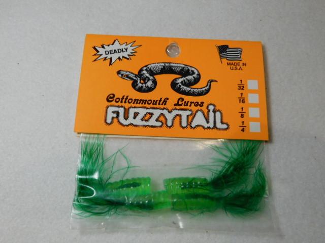 Green/Green Fuzzytail Jig
