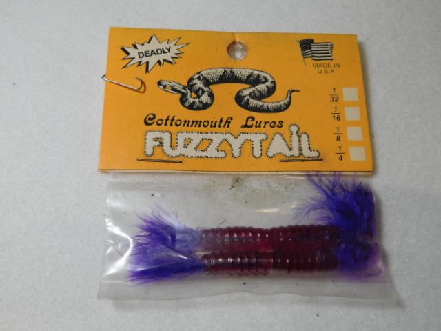Purple/Purple Fuzzytail jig