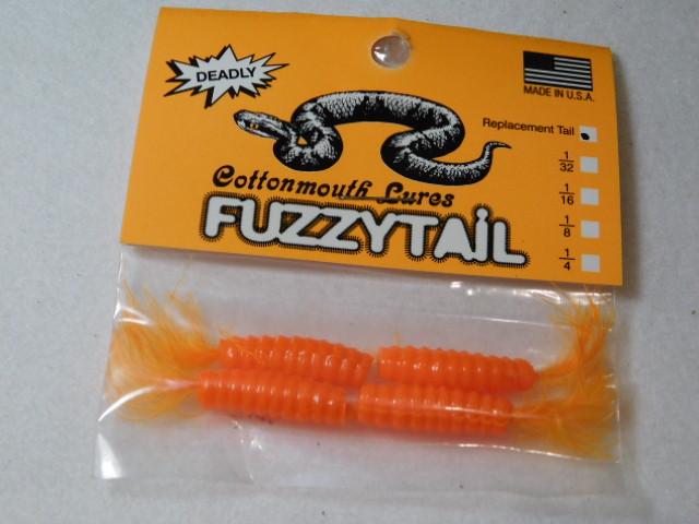 Orange/Orange Fuzzytail Jig