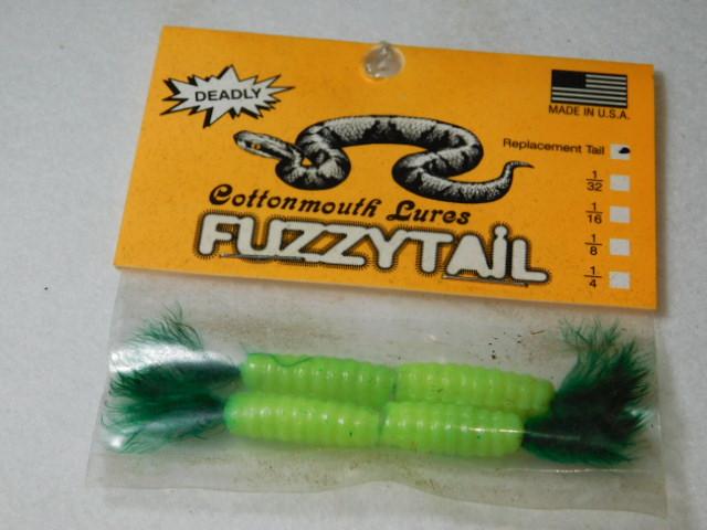 Silk Chart./Green Fuzzytail Jig