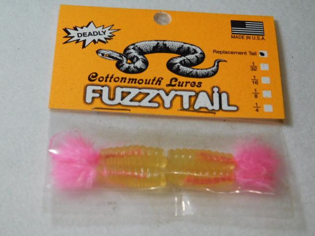 Glow/Pink Fuzzytail Jig