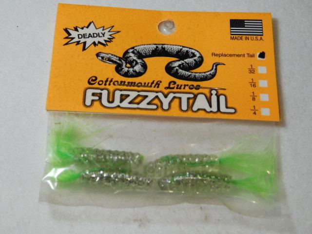 Chart. Glitter/Chart. Fuzzytail Jig