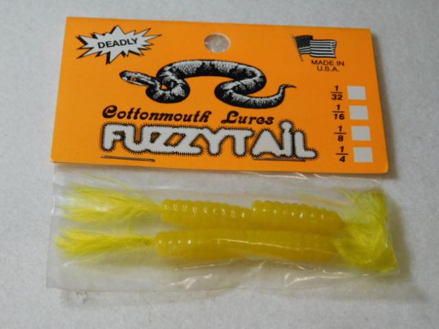 Yellow/Yellow Fuzzytail Jig