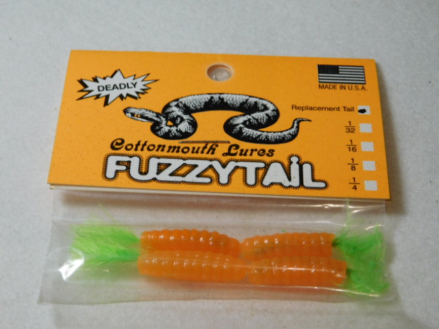 Orange/Chart. Fuzzytail Jig