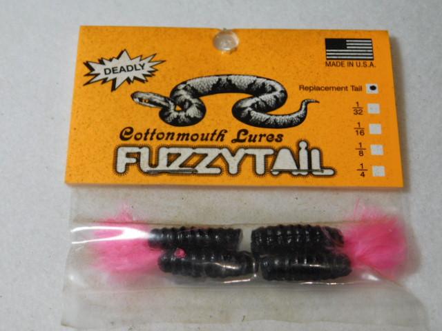 Black/Pink Fuzzytail Jig