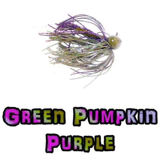 Green Pumpkin Purple football jig Lock-Em-Up Lure
