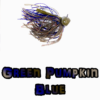 Green Pumpkin Blue football jig lock-em-up lures