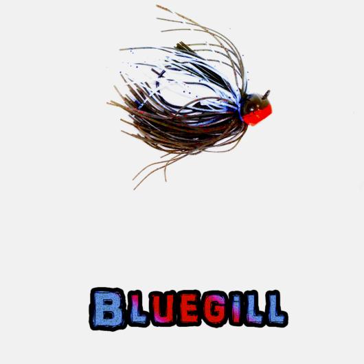Bluegill football jig Lock-Em-Up Lures