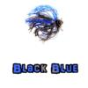 Black/Blue football jig lock-em-up lures