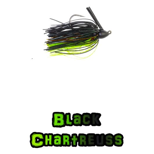 Black/Chartreuss Scarface Lock-Em-Up Jig