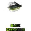 black/chartreuss football jig lock-em-up lures