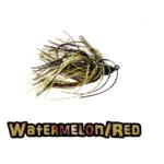 watermelon/red lock-em-up jig