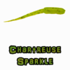 Chartreuse Sparkel Brush Hammer Brushpile Jigs