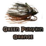 Green Pumpkin/Orange Lock-Em-Up Jig