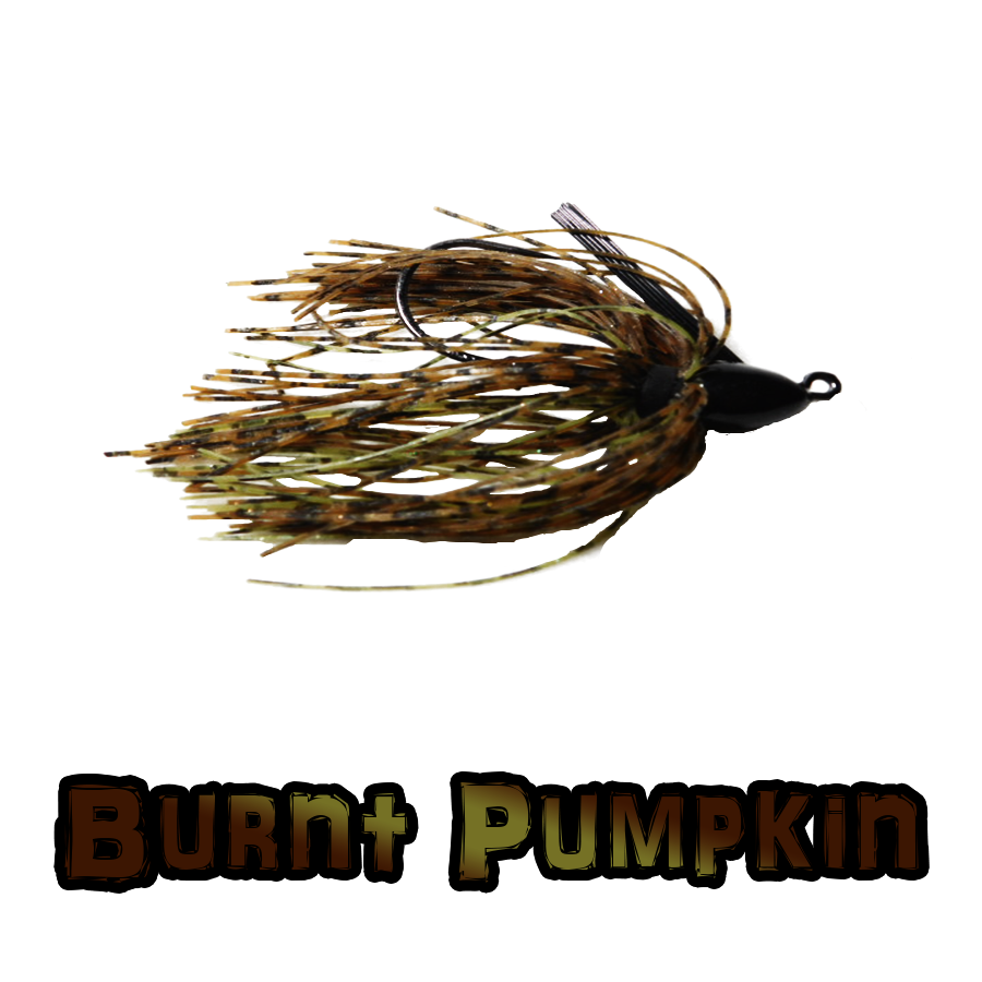 Burnt Pumpkin lock-Em-Up Jig