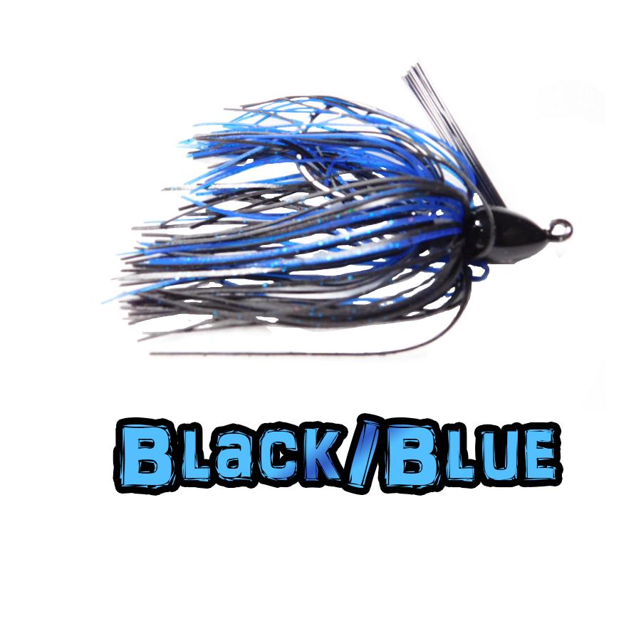 Black/Blue Lock-Em-Up Jig
