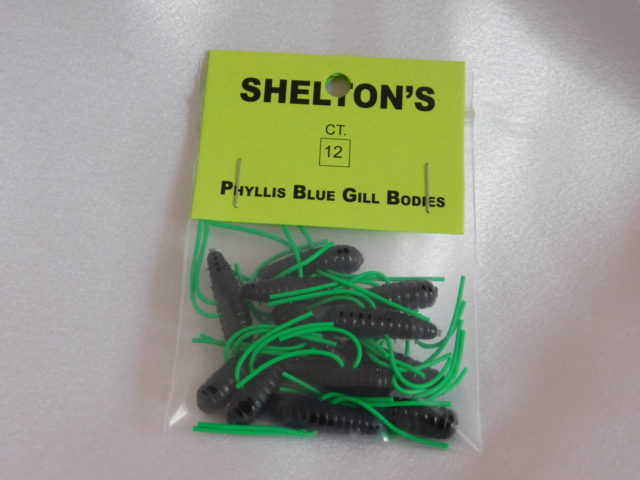 Phyllis Blue Gill Bug Replacement Body Black/Green
