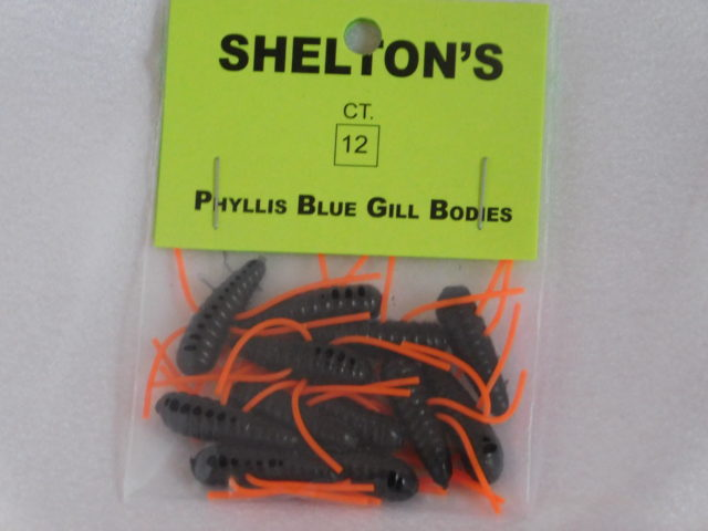 Phyllis Blue Gill Bug Replacement Body Black/Orange