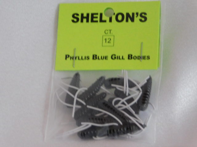 Phyllis Blue Gill Bug Replacement Body Black/White