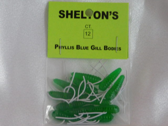 Phyllis Blue Gill Bug Replacement Body Green/White