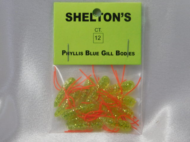 Phyllis Blue Gill Bug Replacement Body Chart./Orange
