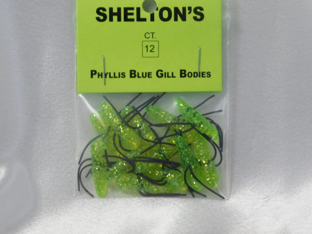 Phyllis Blue Gill Bug Replacement Body Chart./Black