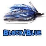 Black/Blue Lock-Em-Up Lures Swim jig