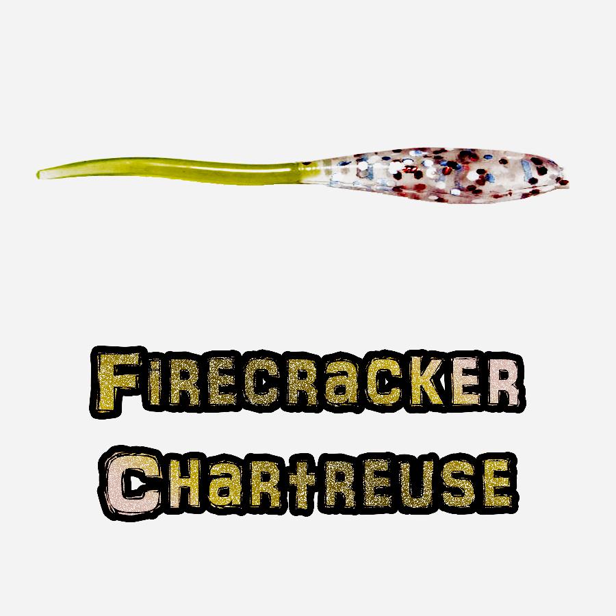 Firecracker Chartreuse Brush Dancer Brush Pile Jig