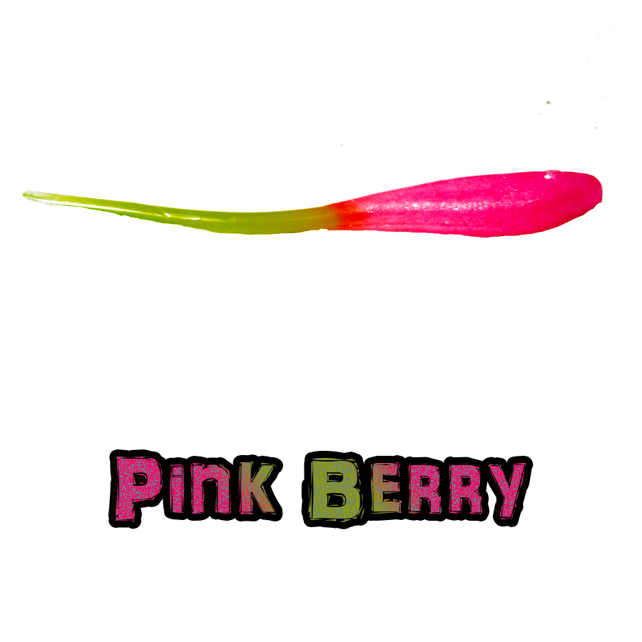 Pink Berry Brush Dancer Brush Pile Jig