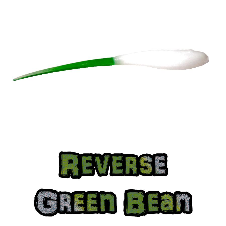 Reverse Green Bean Brush Dancer Brush Pile Jig